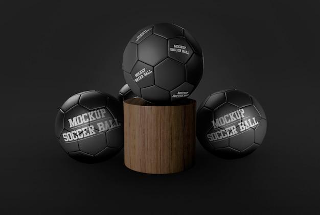 Футбольный мяч макет