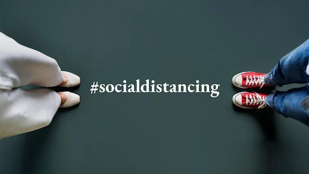 Social distancing during the coronavirus pandemic