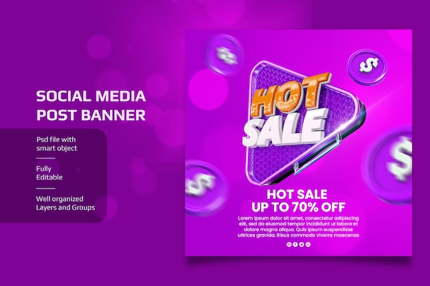 Social media banner hot sale