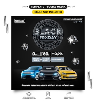 Social media feed black friday car agency its time to secure your used car in brazil