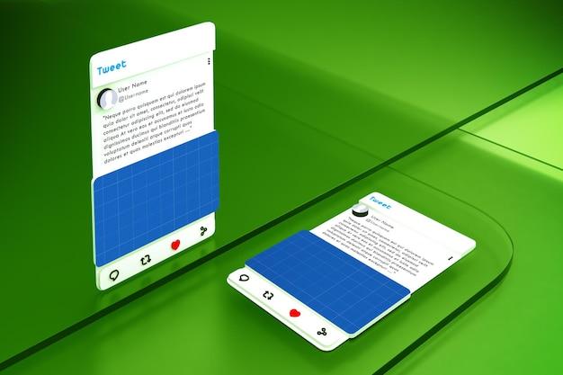 Social media on glass v2
