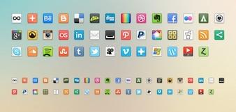 Social media icons  png