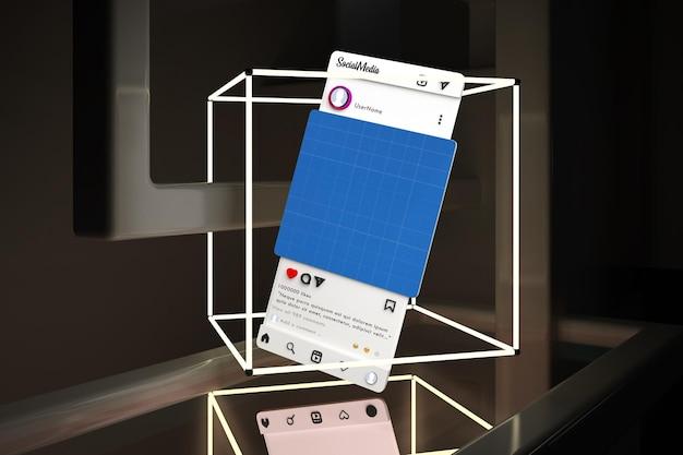 Социальные сети neon v1