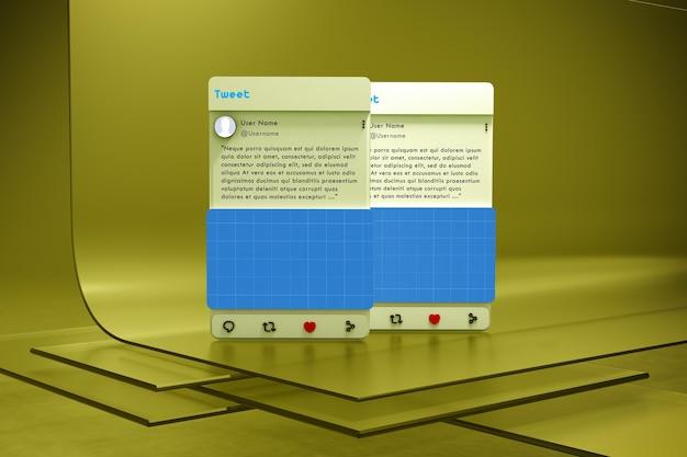Социальные сети на glass v2