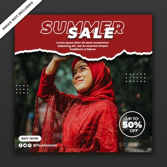 Social media post instagram template fashion girl sale collection new