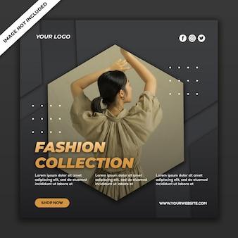 Шаблоны сообщений в социальных сетях instagram fashion sale collection