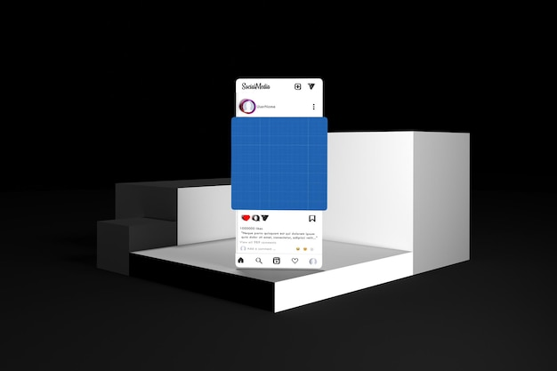 Social media v1 on levels