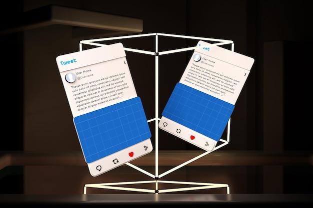 Social media v2 neon