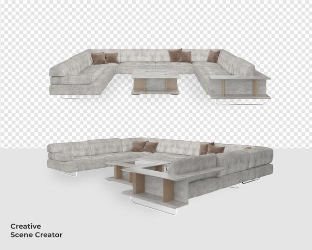 Украшение дивана в современном стиле дизайнер сцены