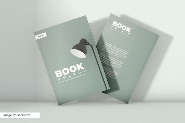 Дизайн мокапа книги в мягкой обложке