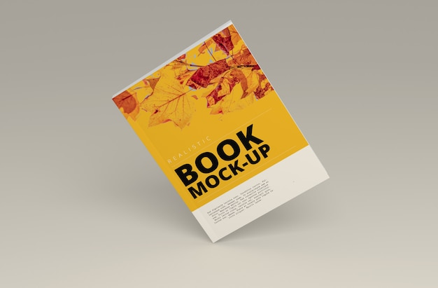 Softcover book mock up