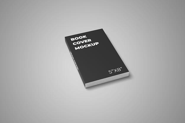 ソフトカバーの本のモックアップ