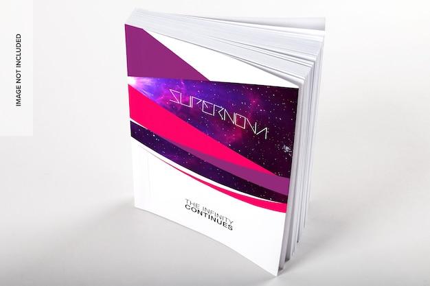 Макет книги в мягкой обложке psd Premium Psd