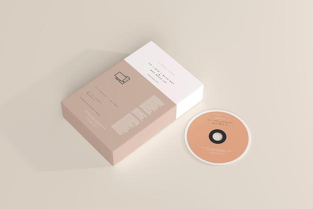 Software box and disk mockup
