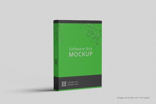 Вид сбоку макета коробки программного обеспечения
