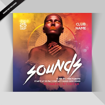 Sounds night flyer