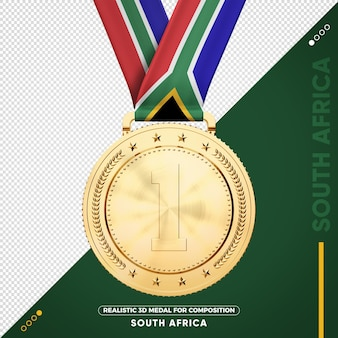 South africa gold medal for composition