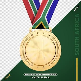 Золотая медаль юар за состав