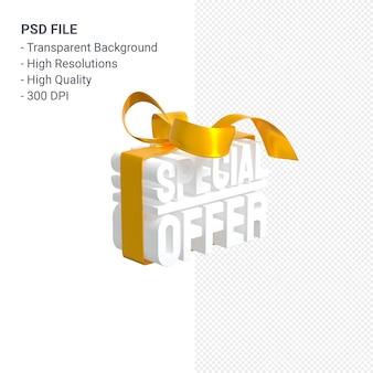 노란색 나비와 절연 리본 판매를위한 특별 제공 판매 3d 디자인 렌더링