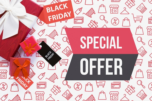 Special offers available on black friday