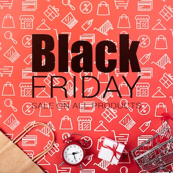 Special offers on black friday campaign
