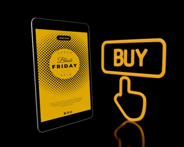Special offers campaign on black friday