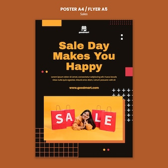 Special sales print template