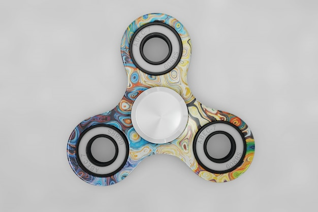Spinner mock up