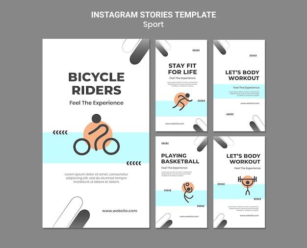 Спортивные концепции instagram рассказы