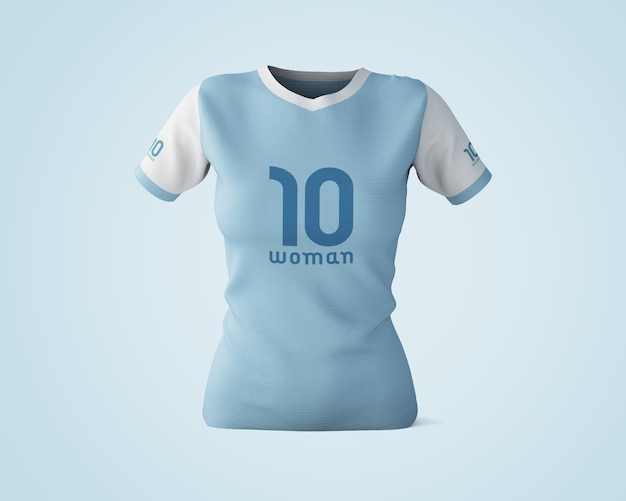 Blue T Shirt Mock Up Psd File Free Download