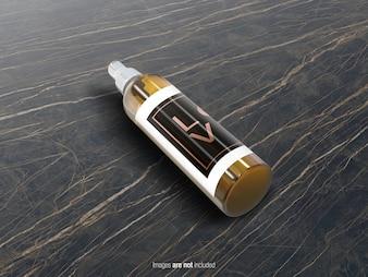 Spray Bottle PSD Mockup