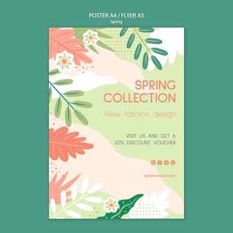Spring collection flyer discount
