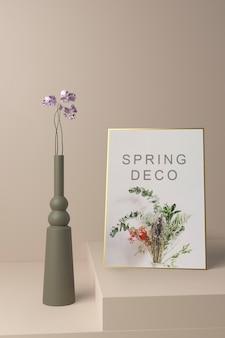 Spring deco concept mock-up
