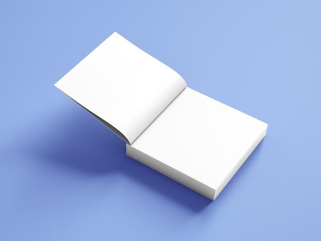 Квадратный макет обложки книги