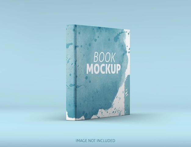 정사각형 책 목업 디자인 렌더링