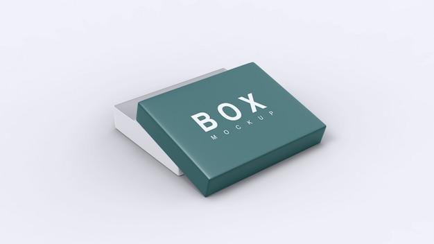 Макет квадратной коробки