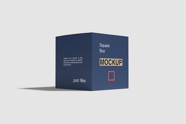 Квадратная коробка макет