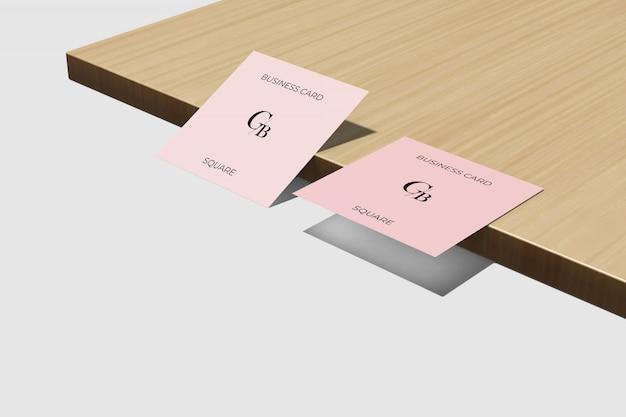 테이블 이랑 정사각형 명함