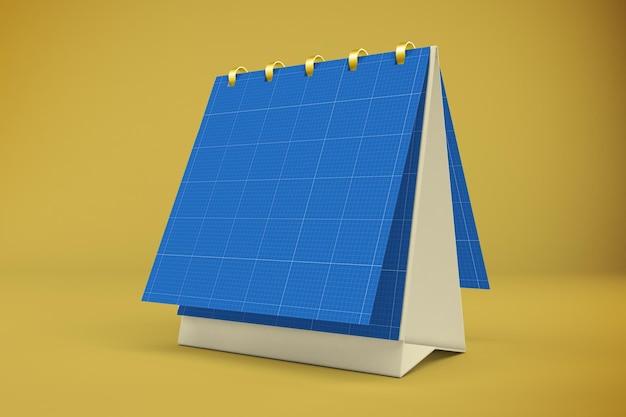 Square calendar design mockup