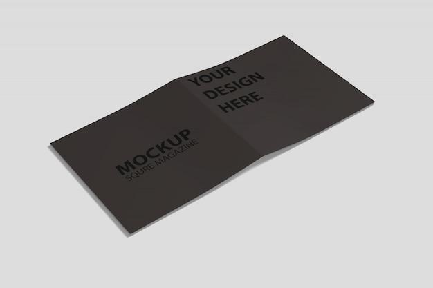 Square catalog mockup
