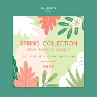 Square flyer spring collection