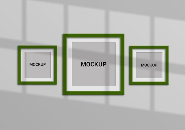 Дизайн макета квадратной рамки