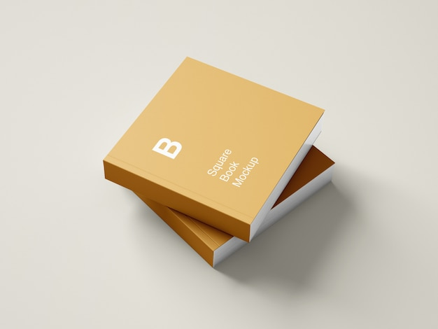 정사각형 하드 커버 책 이랑 디자인