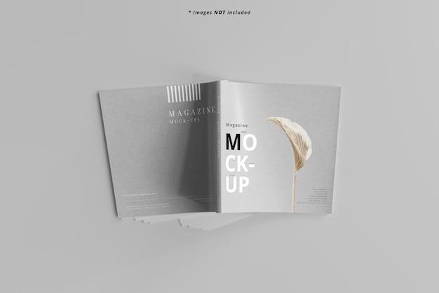 Мокап square magazine