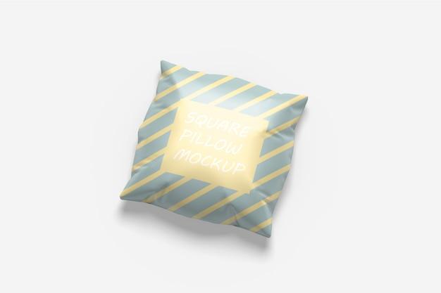 Квадратная подушка мокап