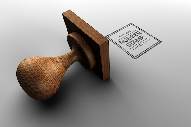 사각 스탬프 이랑 디자인