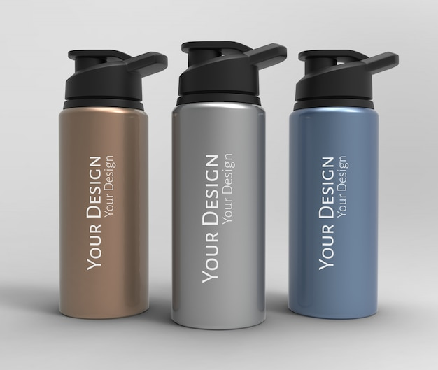 Squeeze bottle mockup