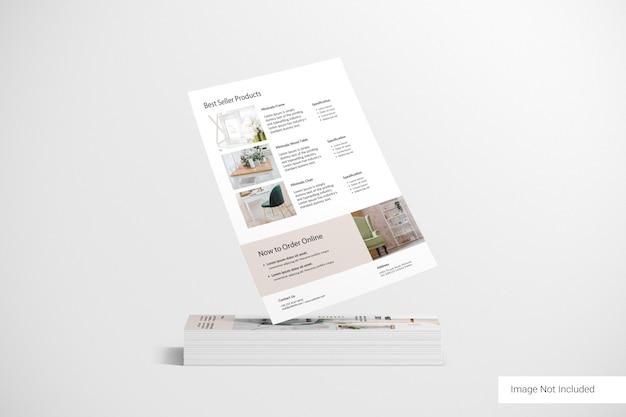 Stack of brochures