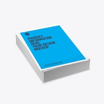 Стек макет печатных листов на пустое пространство