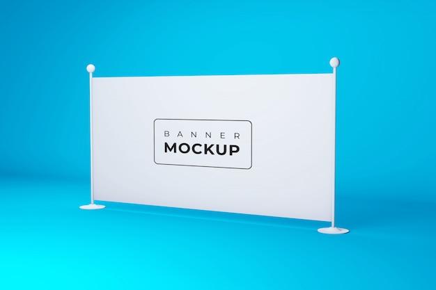 Сценический макет рекламных щитов и баннеров
